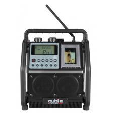 RADIO ZWART CUBI 2 I-POD #