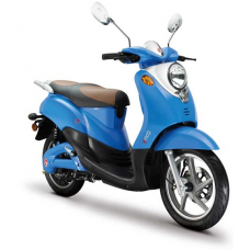 SCOOTER ELECTRISCH NOVI ECO LIMITED EDITION BLAUW