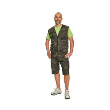 CAMOUFLAGE GRIJS, L CRAMBE SHORT 65% POLY/ 35% KAT CAMOUFLAGE