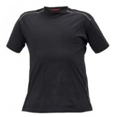T-SHIRT CERVA KNOXFIELD ANTRACIET ROOD L #