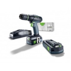 ACCUMACHINE FESTOOL LIMITED EDITION T18+3 2 X LI-ION COMPACT 3.1AH