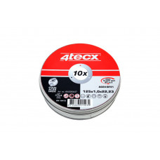 DOORSLIJPSCHIJF A60V-BF41 10 STUKS/BLIK 4TECX 125X1.0X22.2MM